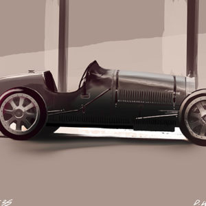 Bugatti type 33 1924