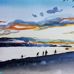 Paysages aquarelle
