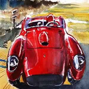 Ferrari Testarossa sunshine